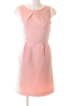 Sinéquanone Trägerkleid wollweiß-pink Allover-Druck Casual-Look