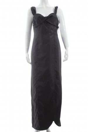Singh Madan Trägerkleid schwarz Eleganz-Look