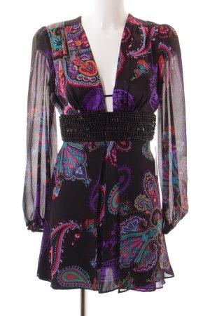 single dress Abendkleid florales Muster Elegant