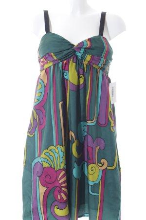single dress Trägerkleid abstraktes Muster extravaganter Stil