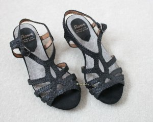 Sioux Strapped Sandals black