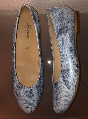 Sioux Helia Ballerinas Gr. 6 / 39 Leder blau jeansblau Neu OVP
