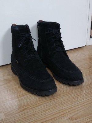 Sioux Bottes à lacets noir
