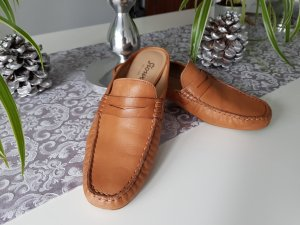 Sioux Moccasins beige leather