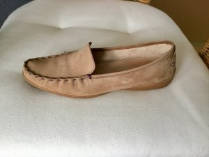 Sioux Moccasins camel-grey lilac suede
