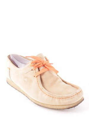 Sioux Schnürschuhe sandbraun-orange Casual-Look