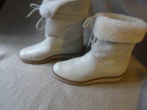 Sioux  weiße Stiefeletten Gr. 41
