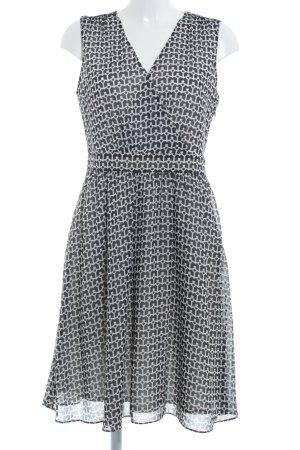 Sir Oliver A-Linien Kleid taupe-weiß Casual-Look