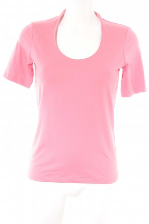 Sir Oliver Top basic rosa stile casual