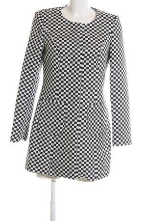 Sir Oliver Geklede jas wit-zwart geruite print zakelijke stijl