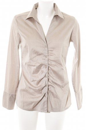 Sir Oliver Hemd-Bluse creme-silberfarben Business-Look