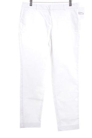 Sir Oliver pantalón de cintura baja blanco tejido mezclado