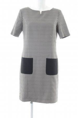 Sir Oliver Dress white-black allover print casual look