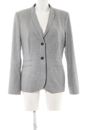 Sir Oliver Blazer corto bianco-grigio chiaro motivo a quadri stile professionale