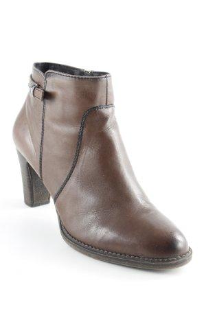 Sir Oliver Reißverschluss-Stiefeletten braun Street-Fashion-Look