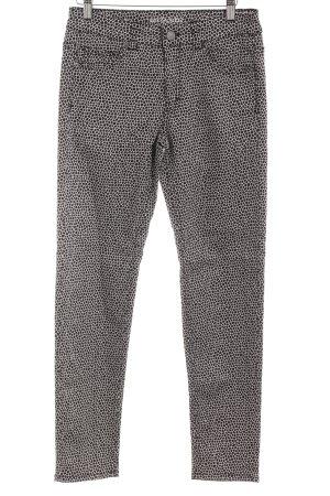 Sir Oliver Jeans slim fit nero-bianco motivo astratto stile casual