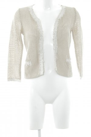 Sir Oliver Giacca in maglia beige-argento elegante