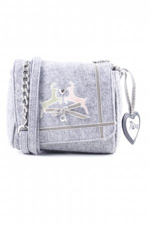 Sir Oliver Trachtentasche grau Country-Look