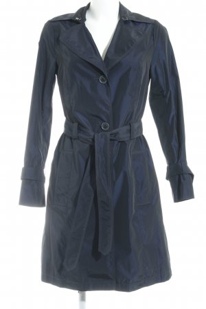 Sir Oliver Trenchcoat dunkelblau Casual-Look
