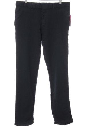 Sir Oliver Pantalone di lana blu scuro stile casual