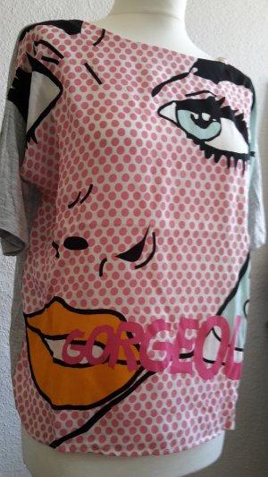 Sirt im Popart Stil, Printshirt, Comicshirt, Pinupshirt