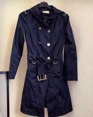 Sisley Heavy Raincoat dark blue