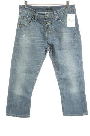 Sisley 3/4 Jeans blau Casual-Look
