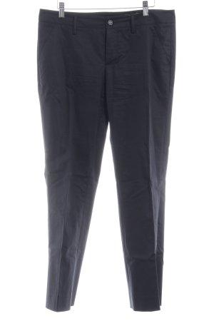 Sisley 7/8-Hose dunkelblau Business-Look