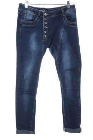Sisley 7/8 Jeans stahlblau Casual-Look