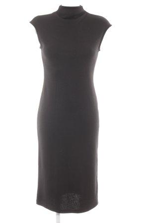 Sisley Abendkleid schwarz Business-Look