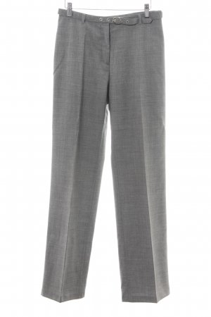 Sisley Pantalon lichtgrijs zakelijke stijl