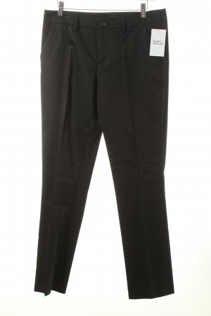 Sisley Anzughose schwarz Business-Look