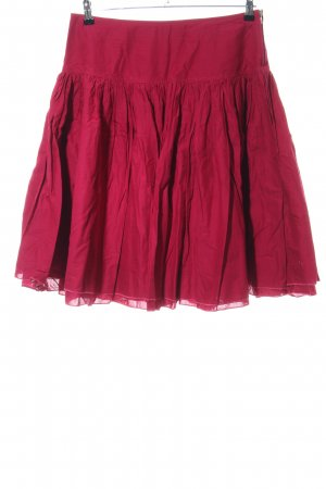 Sisley Balloon Skirt red casual look