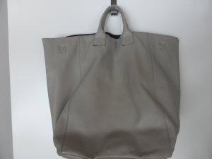 Sisley Pouch Bag light grey-oatmeal leather
