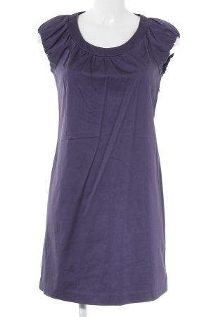 Sisley Bleistiftkleid dunkelviolett Business-Look