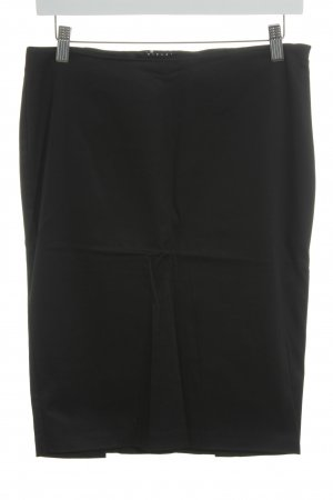 Sisley Bleistiftrock schwarz Business-Look