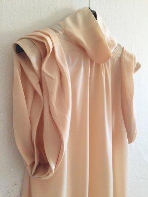 SISLEY Bluse, armlos, Rosa, elegant