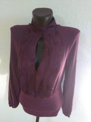 SISLEY Bluse/Shirt in dunklem Violett