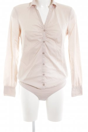 Sisley Bodysuit Blouse cream-natural white business style