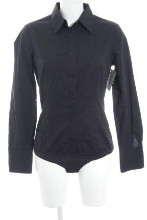 Sisley Bodysuit Blouse black casual look
