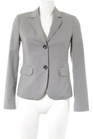 Sisley Blusenjacke Hahnentrittmuster Business-Look