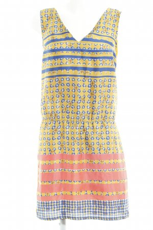 Sisley Blusenkleid abstraktes Muster Casual-Look