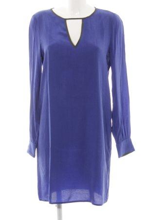 Sisley Blusenkleid neonblau Casual-Look