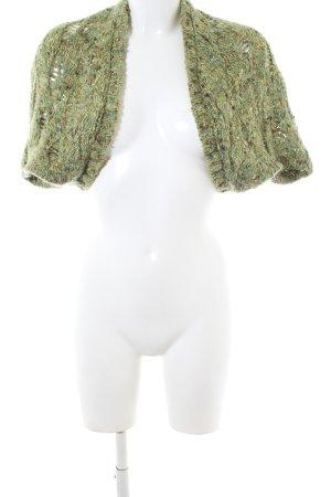 Sisley Bolero khaki flecked casual look