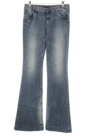 """Sisley Jeans bootcut """"San Francisco """" bleuet"""
