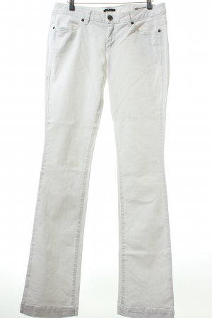 Sisley Boot Cut Jeans weiß Retro-Look