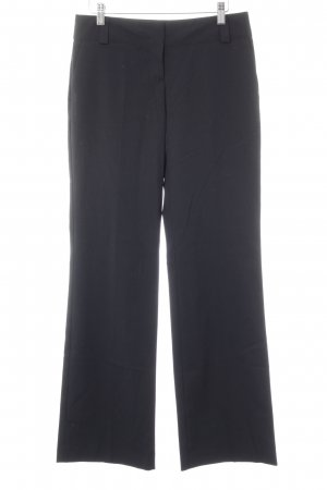 Sisley Bundfaltenhose schwarz Business-Look