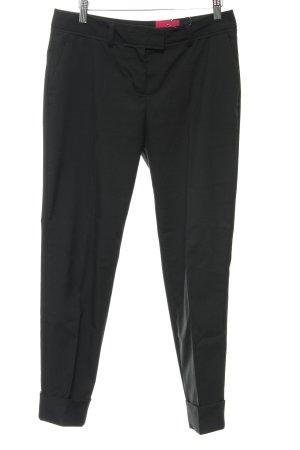 Sisley Pantalon à pinces noir style d'affaires