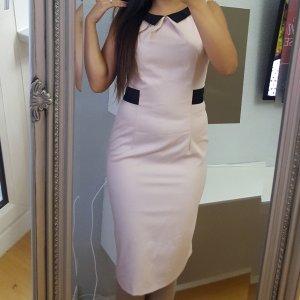 Sisley Business Kleid rose / nude/ schwarz