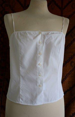 Sisley Top bustino bianco